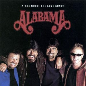 Alabama - In the Mood : the Love Songs cover art