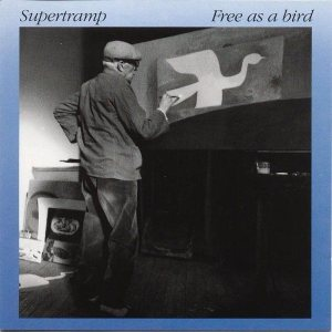 Supertramp - Free as a Bird cover art