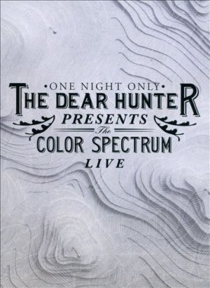 The Dear Hunter - The Color Spectrum Live cover art