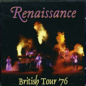 Renaissance - British Tour '76 cover art