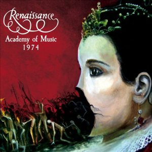 Renaissance - Academy of Music 1974 cover art