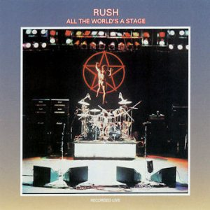 Rush - All the World's a Stage cover art