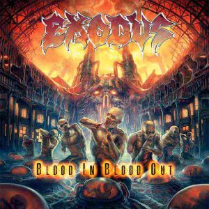 Exodus - Blood in Blood Out cover art