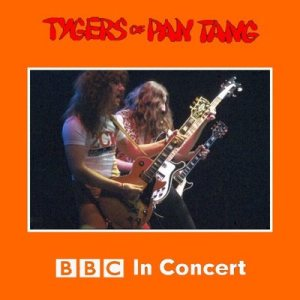 Tygers of Pan Tang - BBC in Concert cover art