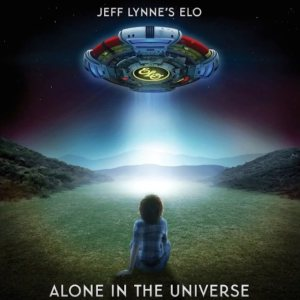 Jeff Lynne's ELO - Alone in the Universe cover art
