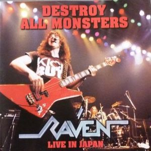 Raven - Destroy All Monsters-Live in Japan cover art