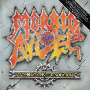 Morbid Angel - Abominations of Desolation cover art