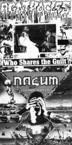 Agathocles / Nasum - Who Shares the Guilt? / Blind World cover art