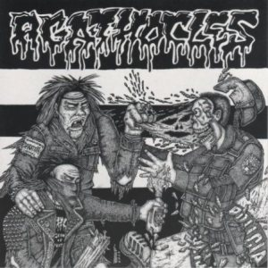 Agathocles - Living Hell Downfall cover art