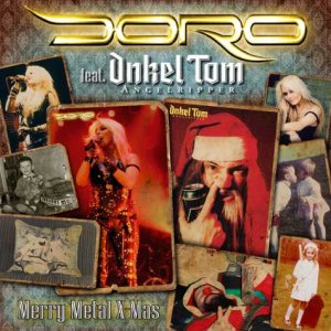 Doro - Merry Metal Xmas cover art