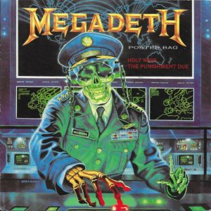 Megadeth - Holy Wars... the Punishment Due cover art