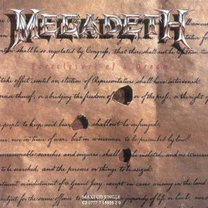 Megadeth - Foreclosure of a Dream cover art