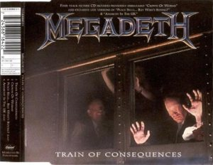 Megadeth - Train of Consequences cover art