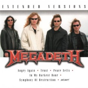 Megadeth - Extended Versions cover art