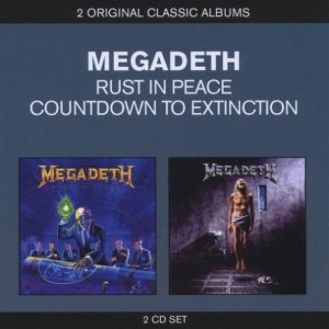Megadeth - Rust in Peace / Countdown to Extinction cover art