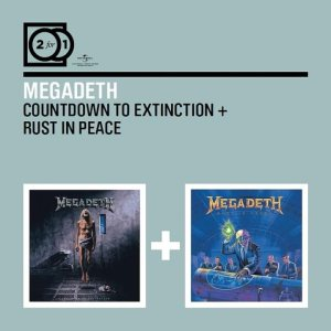 Megadeth - Countdown to Extinction / Rust in Peace cover art