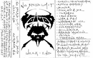 Voivod - No Speed Limit Weekend cover art