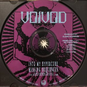 Voivod - Into My Hypercube cover art