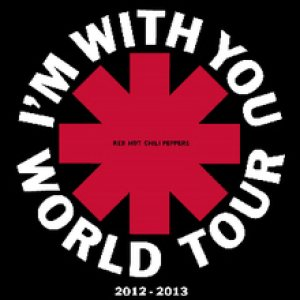 Red Hot Chili Peppers - I'm with You World Tour cover art