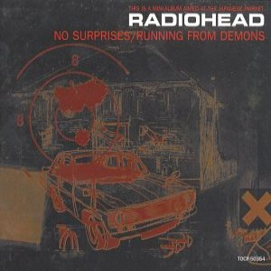 Radiohead - No Surprises/Running from Demons cover art