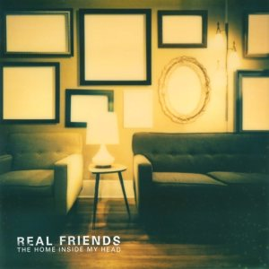 Real Friends - The Home Inside My Head cover art