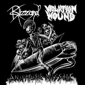 Blizzard / Violation Wound - Antimusic Missile cover art