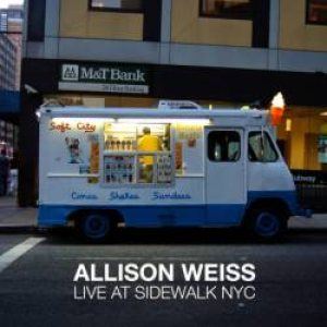 Allison Weiss - Live at Sidewalk NYC cover art