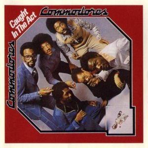 Commodores - Caught in the Act cover art