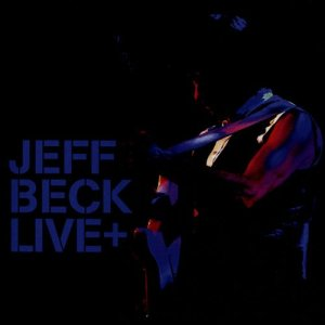 Jeff Beck - Live + cover art