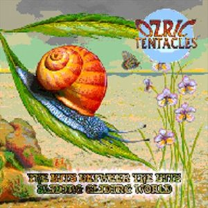 Ozric Tentacles - The Bits Between the Bits / Sliding Gliding Worlds cover art