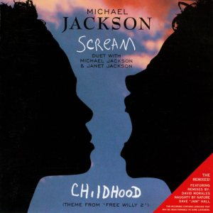 Michael Jackson / Janet Jackson - Scream / Childhood cover art