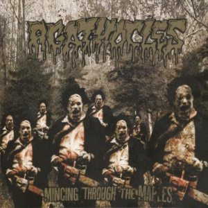 Agathocles - Mincing Through the Maples cover art