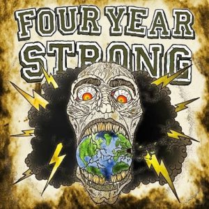 "Four Year Strong - It's Not the Size of the 7""... It's How You Use It cover art"