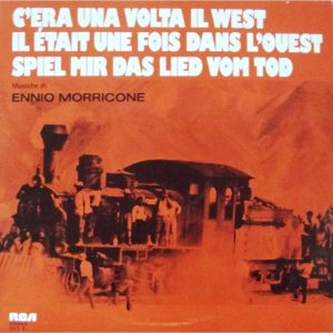 Ennio Morricone - C'era una volta il West cover art
