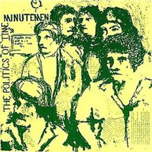 Minutemen - The Politics of Time cover art