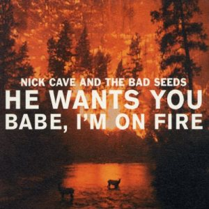 Nick Cave and The Bad Seeds - He Wants You / Babe I'm on Fire cover art