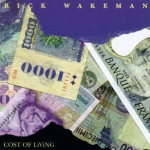 Rick Wakeman - Cost of Living cover art