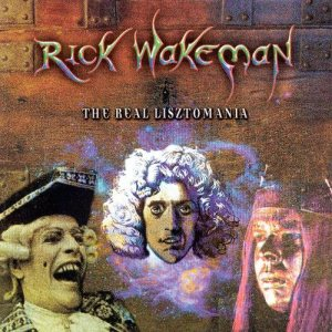 Rick Wakeman - The Real Lisztomania cover art