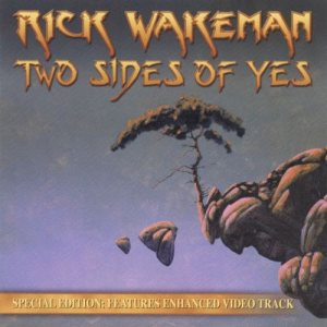 Rick Wakeman - Two Sides of Yes cover art