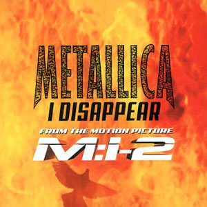 Metallica - I Disappear cover art