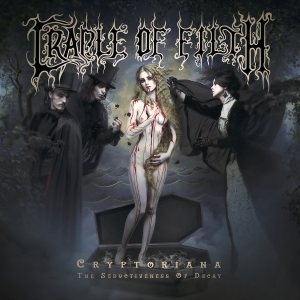 Cradle of Filth - Cryptoriana - The Seductiveness of Decay cover art