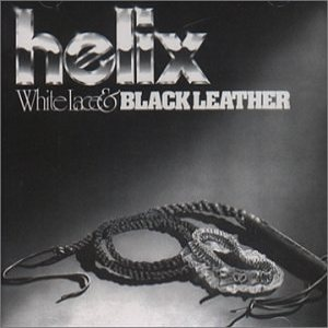 Helix - White Lace & Black Leather cover art