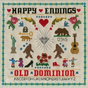 Old Dominion - Happy Endings cover art