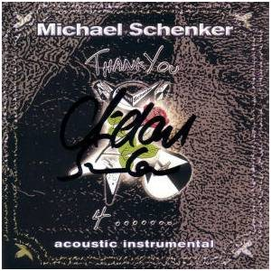 Michael Schenker - Thank You 4 cover art