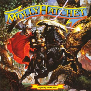 Molly Hatchet - Lightning Strikes Twice cover art