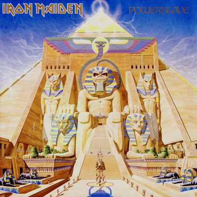 Iron Maiden - Powerslave cover art