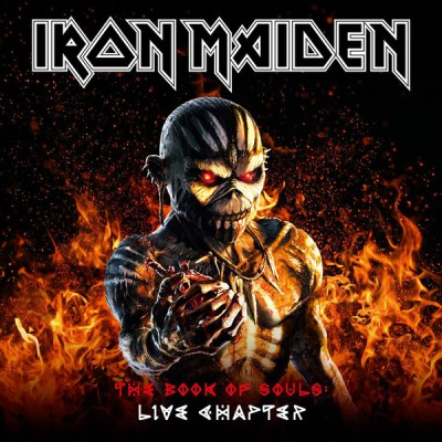 Iron Maiden - The Book Of Souls: Live Chapter cover art
