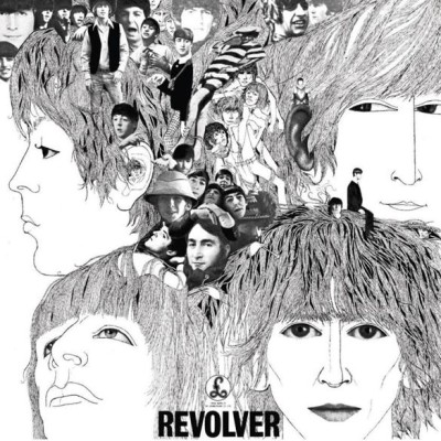 The Beatles - Revolver cover art