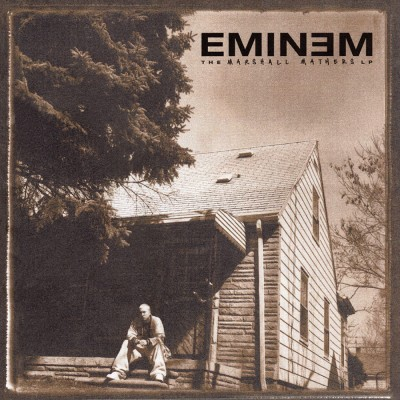 Eminem - The Marshall Mathers LP cover art
