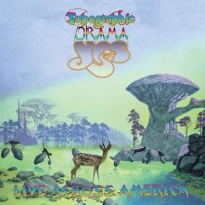 Yes - Topographic Drama: Live Across America cover art